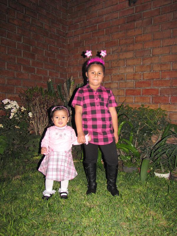 Mi hermanita y yo
